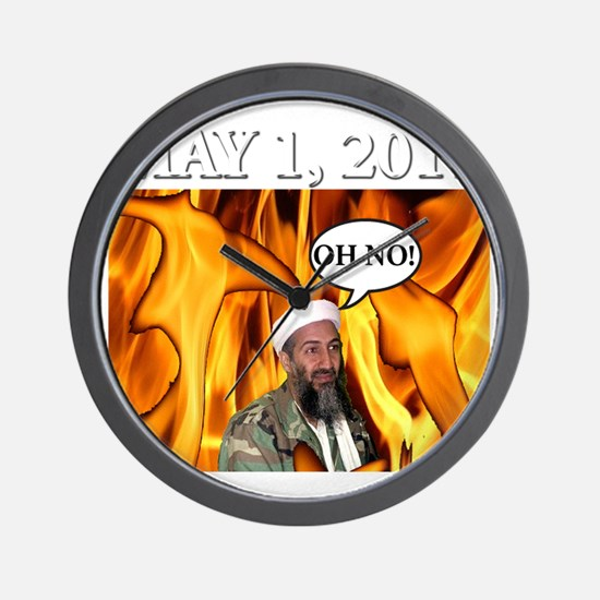 OSAMA2 Wall Clock