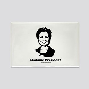 Madame President Rectangle Magnet
