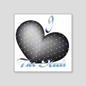 """Tar-Heels Square Sticker 3"""" x 3"""""""