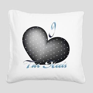 Tar-Heels Square Canvas Pillow