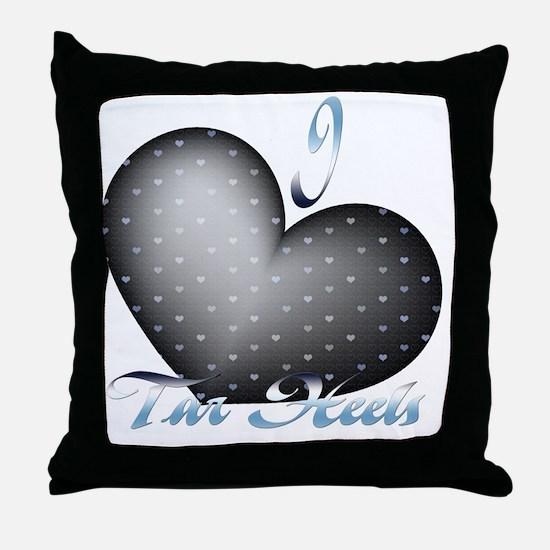 Tar-Heels Throw Pillow