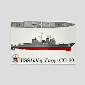 TicoCg-50_Valley_Forge_Tshirt_10x Rectangle Magnet