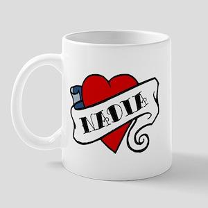 Nadia tattoo Mug