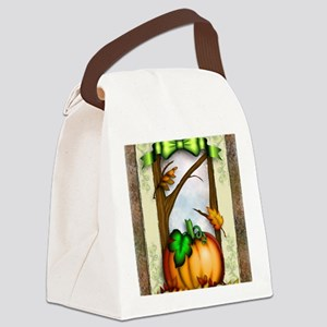 Thanksgiving Memories Canvas Lunch Bag