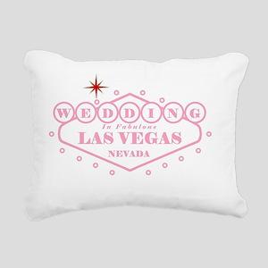 Light Pink LV Wed Rectangular Canvas Pillow