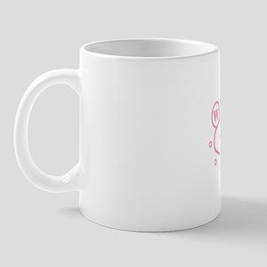 Light Pink LV Wed Mug