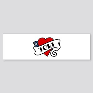 Tori tattoo Bumper Sticker