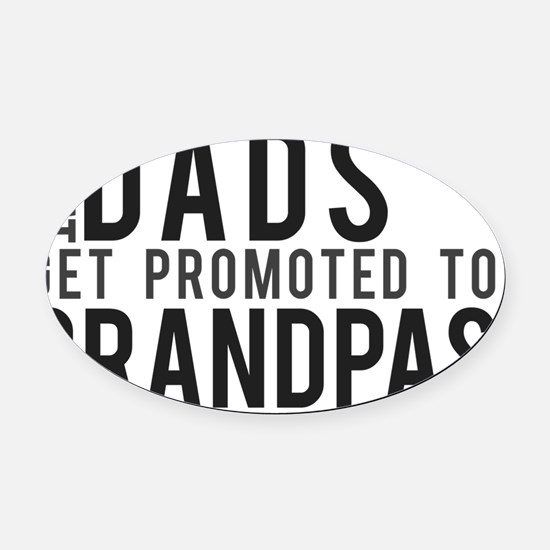 great-dads Oval Car Magnet
