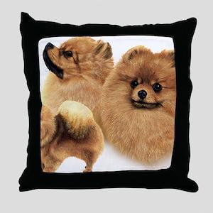 Pomeranian Multi Throw Pillow