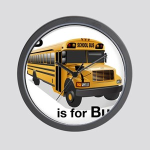 B_is_Bus Wall Clock