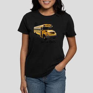 B_is_Bus Women's Dark T-Shirt