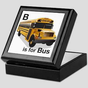 B_is_Bus Keepsake Box