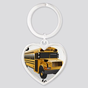 B_is_Bus Heart Keychain