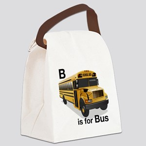 B_is_Bus Canvas Lunch Bag
