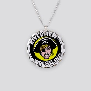 RHS Wrestling Necklace Circle Charm