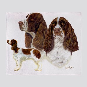 Eng Springers Throw Blanket