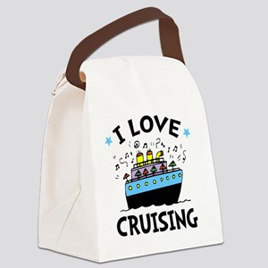 Love Cruising Canvas Lunch Bag