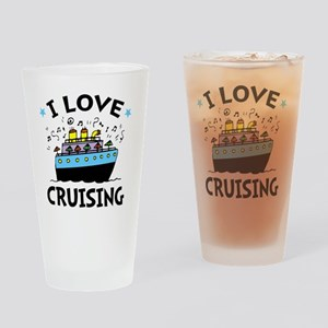 Love Cruising Drinking Glass