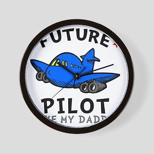 Pilot Daddy Wall Clock