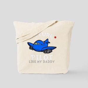Pilot Daddy -dk Tote Bag