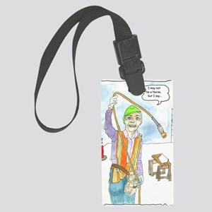 I may not be a Nurse cr Large Luggage Tag