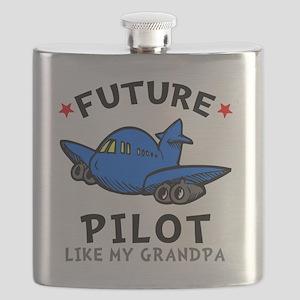 Pilot Grandpa Flask