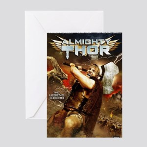 Poster_Thor Greeting Card