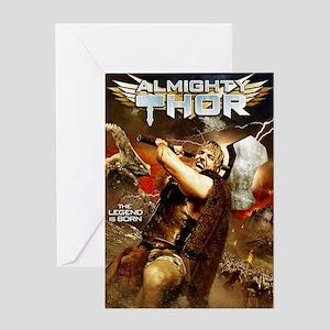 Poster_ThorA Greeting Card