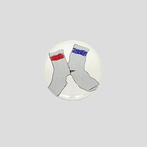 Holey socks centered Mini Button