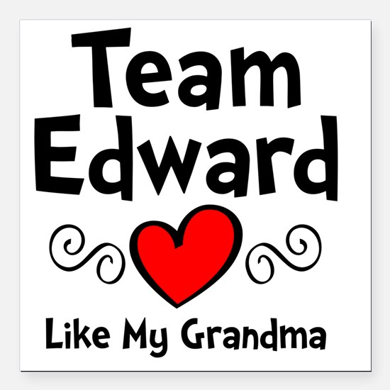 "EdTeam Gma Square Car Magnet 3"" x 3"""