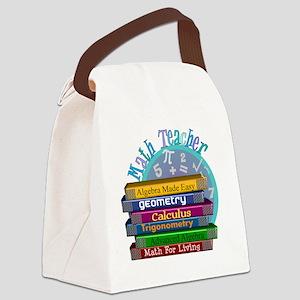 Math Teacher new 2011 Canvas Lunch Bag