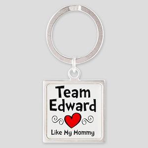 EdTeam Mom Square Keychain