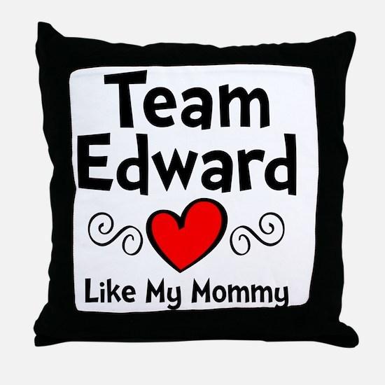 EdTeam Mom Throw Pillow