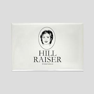 Hill Raiser Rectangle Magnet