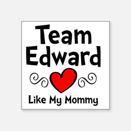 """EdTeam Mom Square Sticker 3"""" x 3"""""""