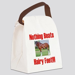 hairykidst Canvas Lunch Bag