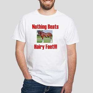 hairykidst White T-Shirt