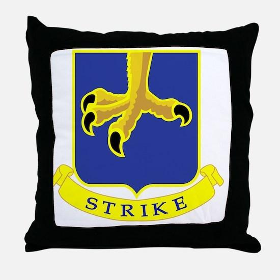 502nd Parachute Infantry Regiment Throw Pillow