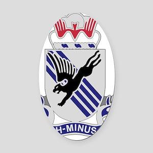 505th Airborne Infantry Regiment Oval Car Magnet