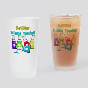 Retired Science Teacher Beekers 201 Drinking Glass