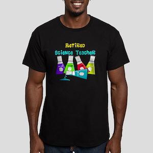 Retired Science Teache Men's Fitted T-Shirt (dark)