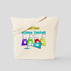 Retired Science Teacher Beekers 2011 2 Tote Bag