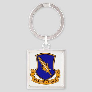 504th Parachute Infantry Regiment Square Keychain