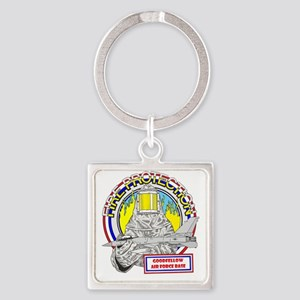 FIRE PROTECTION - GOOD FELLOW  AFB Square Keychain