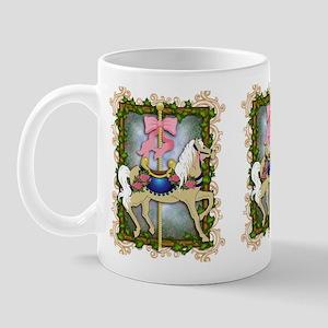 flowercarouselwide Mug