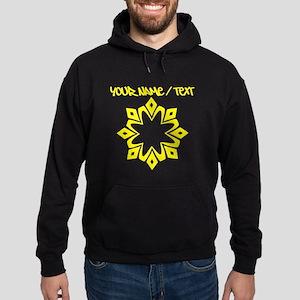 Yellow Snowflake Hoodie