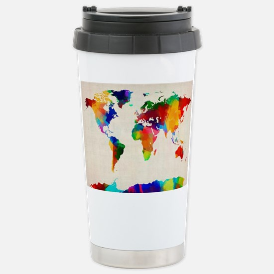 Unique Mapping Travel Mug