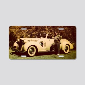 Packard Aluminum License Plate