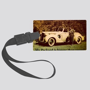 Packard Large Luggage Tag