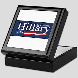 Hillary for President Poster Keepsake Box